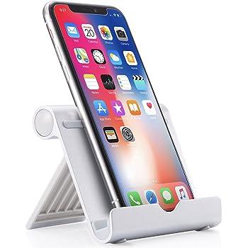 Anker スマホ&タブレット用スタンド 角度調整可能 iPhone X・iPhone 8 Plus・iPhone 8・iPad・iPad mini・Nexus 7等(シルバー)
