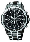Seiko Men SSC143P-9 Year-Round Chronograph Solar Powered Multicolour Watch
