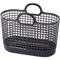 ライクイット (like-it) ランドリー 洗濯 収納 タウンバスケット グレー LBB-09C バイオマスプラスチッ…