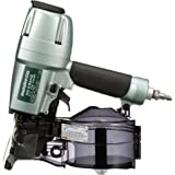 """Metabo HPT NV65AH2 Coil Siding Nailer, 1-1/2"""" to 2-1/2"""" Nails, Wire/Plastic Sheet Collation"""