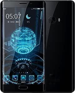 顔認証対応・Snapdragon 821搭載・5.7インチ OLEDエッジディスプレイ FHD・4G LTE+3G同時待受けXiaomi Mi Note 2 Global Version 日本仕様 Japan Band対応4070mAhバッテリー (6GB+128GBメーカー保証1年付き, ブラック)
