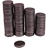 Creative Hobbies Ceramic Industrial Magnets - 1 Inch (25mm) Round Disc - Ferrite Magnets Bulk for Crafts, Science, Refrigerat