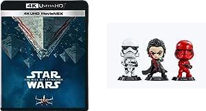 【Amazon.co.jp限定】スター・ウォーズ/スカイウォーカーの夜明け 4K UHD MovieNEX(HOTTOYSコラボレーション企画 オリジナルコスベイビー付き<KYLOREN,SITHTROOPER,STOMTROOPER>) [4K ULTRA HD+3D+ブルーレイ+デジタルコピー+MovieNEXワールド] [Blu-ray]