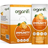 Organifi: Immunity - Organic Superfood Immunity Boost - 14 Single Serve Packets - Cold and Flu Relief - Nourish and Feed Cell