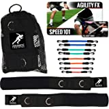 Kbands | Speed and Strength Leg Resistance Bands | Includes Speed 101 and Agility FX Digital Training Programs - Sizes for Yo