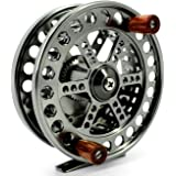 Saion 4.25 inches Float Reel Centre Pin Reel Steelhead Fishing Coarse Trotting Centerpin 108mm