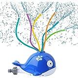 Water Toys for Kids Outdoor Whale Design Water Sprinkler Garden Toys for Children Family Activities, Kids Garden Water Toys f
