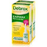 Debrox Earwax Removal Aid Drops | Safely and Gently Cleanses Ear | 0.5 FL OZ | 2 Pack