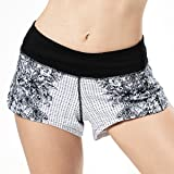 HMILES Women Running Shorts Quick Dry Athletic Sports Active Gym Workout Shorts with Mesh Liner