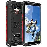 OUKITEL WP5 Pro IP68防水スマートフォン 8000mAh Android 10.0 4G アウトドアスマホ本体 SIMフリースマートフォン本体 4GB+64GB SONY13MP+5MP AIカメラ 携帯電話 LEDライト防災用品顔