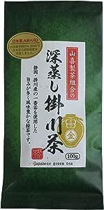 寿老園 山喜製茶組合の深蒸し掛川茶 金 100g ×3袋 リーフ