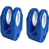 ニシダ 物干し竿ストッパー ブルー 4.5×8.4×4cm