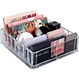 Acrylic Cosmetic Palette Organizer Makeup Beauty Storage Cosmetic Display Case 8 compartments