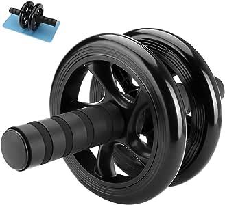 CIVIO アブホイール 腹筋ローラー エクササイズローラー 改良型  超静音 PU輪 滑り止め 耐磨耗 握りやすい 膝を保護するマット付き