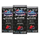 Pedialyte AdvancedCare Plus Electrolyte Powder, with 33% More Electrolytes and PreActiv Prebiotics, Berry Frost, Electrolyte