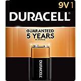 (12) - Duracell Alkaline Battery 9 V Card 1 (12 Pack)