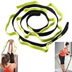 Stretch Strap, Sahara Sailor Exercise Stretch Band with 10 Loops to Increase Flexibility for Yoga Pilates Physical...
