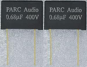 フィルムコンデンサー(0.68uF) 2個セット DCP-FC003-068-2