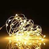 Ehome 100 LED 33ft/10m Starry Fairy String Light Waterproof Decorative Copper Wire Lights for Indoor Outdoor Bedroom Festival