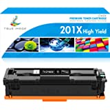 True Image Compatible Toner Cartridge Replacement for HP 201A 201X CF400X CF400A Color Laserjet Pro MFP M277dw M277n M277C6 M