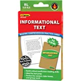 Edupress Reading Comprehension Practice Cards, Informational Text, Green Level (EP63439)