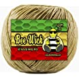 420ft Spool of 100% Organic Hemp Wick waxed by hand in the USA with pharmaceutical grade beeswax (1.0mm)