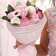 ソープフラワー Minbau 枯れない 花 ギフト 花束 ボックス バラ 石鹸 フラワー お祝い 誕生日 記念日 女性 先生の日 バレンタインデー 昇進など プレゼント