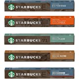 [STARBUCKS by NESPRESSO] スターバックスネスプレッソカプセルコーヒー5種×10カプセル×= 50…