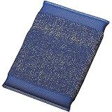 カンダ キッチンスポンジ ブルー 14.5×9cm メタルクリーンスポンジ 89070