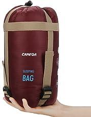 CAMTOA アウトドアシュラフ 寝袋 封筒型 シュラフ 超軽量 ミニ収納 190 x 75cm キャンプシュラフ アウトドア キャンプ 登山 車中泊 丸洗い 収納袋付き