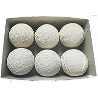 ダイワマルエス 軟式 野球 ボール 公認球 M号 (一般・中学生用) 半ダース(6球)