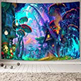 NYMB Psychedelic Tapestry Wall Tapeatry Wall Hanging for Bedroom Living Room 60''x40'', Polyester & Polyester Blend, Multi4,