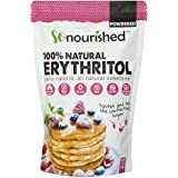 Powdered Erythritol Sweetener (454 Grams / 16 OZ) - Confectioners - No Calorie Sweetener, Non-GMO, Natural Sugar Substitute (