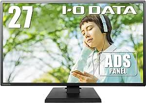 I-O DATA モニター 27型 ADSパネル 非光沢 HDMI×1 アナログRGB×1 スピーカー付 3年保証 土日サポート EX-LDH271DB