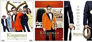 【メーカー特典あり】 キングスマン:ゴールデン・サークル 2枚組ブルーレイ&DVD (ミニクリアファイル2種付) [Blu-ray]