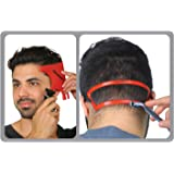 RevoHair & RevoNeck Haircut Tools - Hairline Shaping and Neck Hair Shaving Template Set For Perfect Lineup, Edge Up - One Siz