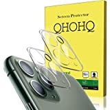 """[2 Pack] QHOHQ Camera Lens Protector Compatible with iPhone 11 Pro Max(6.5"""") and iPhone 11 Pro(5.8""""), Tempered Glass Film,[Ea"""