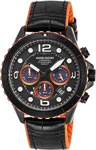 [Angel Clover] 腕時計 タイムクラフトダイバー TCD45BK-BK メンズ ブラック