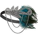 Vijiv Silver 20s Headpiece Vintage 1920s Headband Flapper Great Gatsby