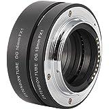 Lens Adapter FX Mount Macro Extension Tube, Auto Focus for Fujifilm X‑T4/X‑T3/X‑T30