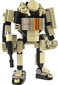 マイビルド(MyBuild) ブロックメカフレーム 防衛軍シリーズ、可動フィギュア- ボクサーIFV 4001