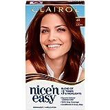 Clairol Nice 'N Easy Permanent Hair Color, 4R Dark Auburn (Packaging May Vary)