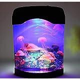 クラゲの光気分ライトLED人工クラゲ水族館照明魚タンクナイトライト