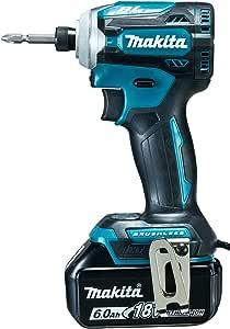 マキタ インパクトドライバTD171(18V)青 トルク180Nm 6Ahバッテリ2本・充電器付 TD171DRGX