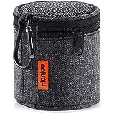 Hianjoo SoundCore mini 対応 スピーカーケース ハードケース Bluetoothスピーカーバッグ ブルートゥース スピーカー キャリングケース 耐衝撃 ショックプルーフ ストラップ付き (ブラック)