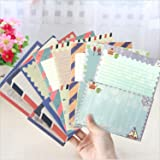 SCStyle 32 Cute Lovely Kawaii Special Design Writing Stationery Paper with 16 pcs Envelopes
