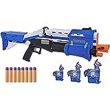 NERF - Fortnite TS-R Blaster and Llama Targets – Pump Action Blaster, 3 Llama Targets, 8 Official Nerf Mega Darts - Outdoor G