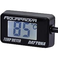 デイトナ AQUAPROVA (アクアプローバ) バイク用 油温/水温計 デジタル 防水 バックライト コンパクト オイ…
