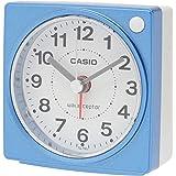 カシオ コンパクトサイズ電波時計 TQ-750J-2JF ブルー 7.7×7.5×4.4cm