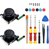 2-Pack 3D Joycon Joystick ,ABLEWE Analog Thumb Stick Joy Con Repair Kit for Nintendo Switch, Include Tri-Wing, Cross Screwdri